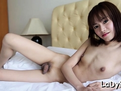 Oriental Lady man Gets Anal Pushed