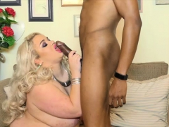 sweet british uk babe saskia swallows big black dick