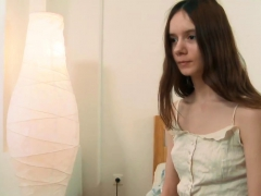 delicate virgin lola kishalak stripping slowly Striptease
