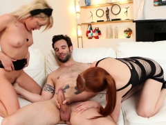 Spinner Dakota Takes On Her Girlfriend And Her Big Dick