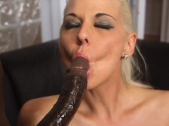 dped group babe sucks huge black cock