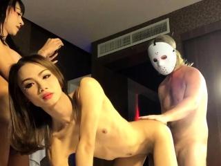 Threesome With Ladyboys Enjoy and Namwan