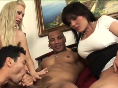 Amazing Friends Have Fun In The Bedroom