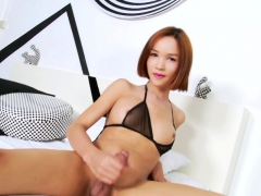 asian-ladyboy-shoots-load