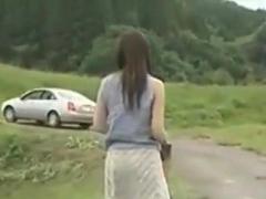Sizzling Hot Asian Temptress Hardcore Outdoor Fuck