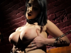 Busty European Mistress Dildoing Her Pussy