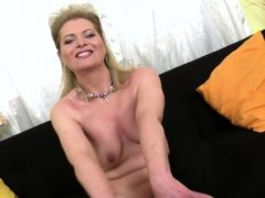 naughty housewife mirka playing with herself