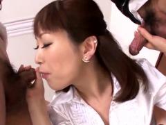 Office Babe,nonoka Kaede, Senu - More At Slurpjp.com