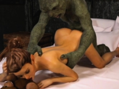 3d bitches annihilated by brutal orcs! PornBookPro