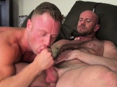 Bareback Hunk Riding Dick After Giving Head
