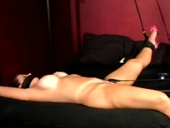 Whore Gets Bounded And Tormented By A Cutie And A Boy