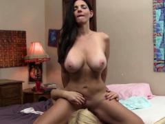 Busty Mindi Licks Young Wet Pussy