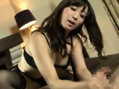 JAV mistress Yuu Kawakami facesitting handjob Subtitled