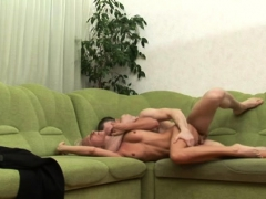 Lascivious Dilettante Sweetheart Rides Her Lover's Hard Pole
