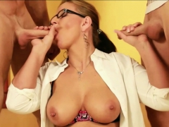 German Milf Love To Fuck Young Boys And Filmed It
