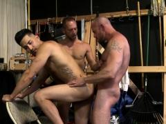 Hot Gay Hunk Jerking Off