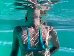 Lena Nicole Is Swimming Naked
