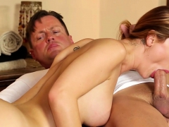 massaged-bigtits-babe-sucking-on-cock