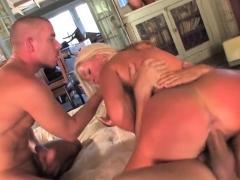 Hot pornstar dp and cumshot