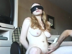 Hot Sweetheart In S&m Scenes With Ropes And Clothespins
