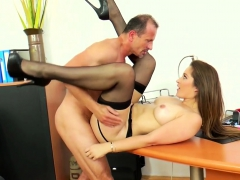 Dani Gets Her Hairy Cunt Drilled