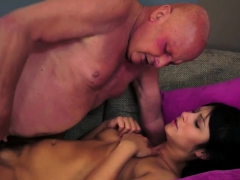 Teen Soaked With Old Jizz