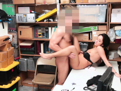 Latina Teen Thief Share Her Pussy With A Security Guy Porn Video