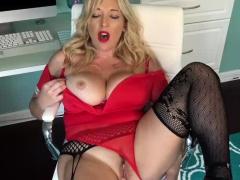 Dirty Secretary Seduces Your Cock
