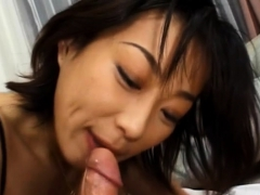 awesome schlong sucking display from a breathtaking hottie