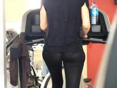 legging through gym PornBookPro