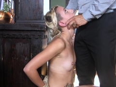 Hot Blonde Thief Tormented And Fucked