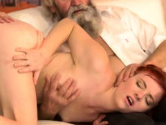 old young and blonde cam unexpected experience with an