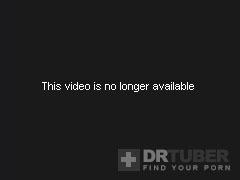 Stripped Chick Stands With Her Large Boobs Tied Up In Ropes