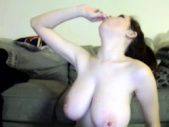 chubby woman huge boobs webcam dance