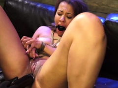 Bondage Gag Orgasm Engine Failure In The Middle Of