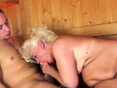 chubby euro grandma pussylicked and fingered PornBookPro