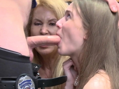big titted mature stepmom and bitch daughter thieves banged