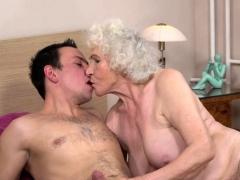 Grandma Rides Hard Dick Porn Video