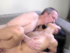 Busty Teenager Rides Cock