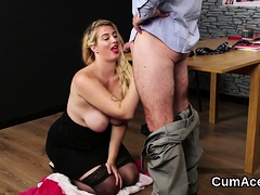 randy looker gets sperm load on her face blowing all th07xqg