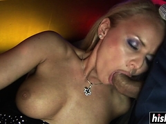 Blonde Babe Gets Her Shaved Vagina Plowed | Porn Bios