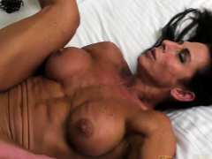 naked female bodybuilder briana nails her boyfriend سكس محارم ,جماعى ,سكس