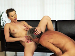 Daddy4k. Girl Left With Mouthful Of Jizz After Being...