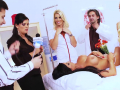 jasmine black orgy with a group of sexy friends
