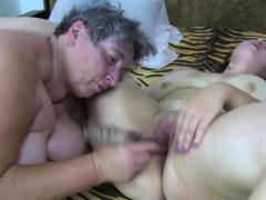 granny eva in lesbian action