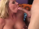 Sons cock is so big and mom love that!