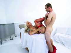 Hot Blonde Ts Doctor Aubrey Kate Makes Jonah Marx Cum