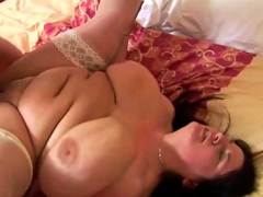 big nurse with monster tits takes it up the bumhole