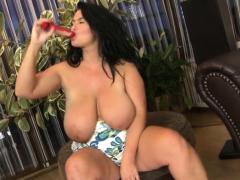 huge tits milf sex with cumshot