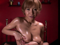 oiled up girl sumire matsu blows dick in – more at